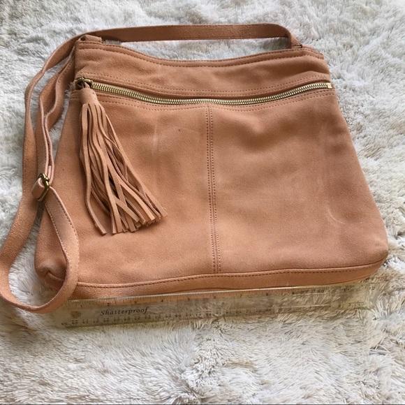 4a308d35fa Margot Bags | Suede Leather Tassel Boho Bag | Poshmark